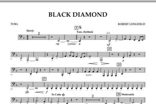 Black Diamond - Tuba (Concert Band)