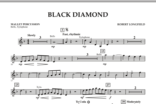 Black Diamond - Mallet Percussion (Concert Band)