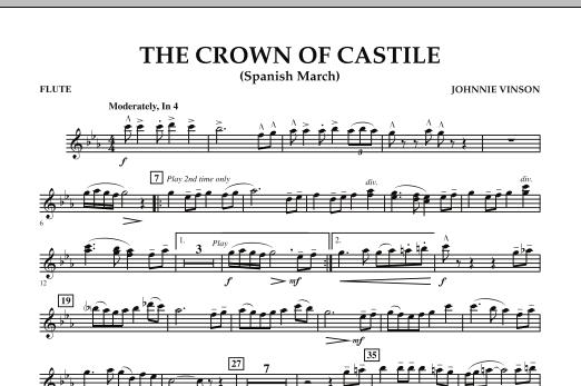 The Crown Of Castile - Flute (Concert Band)