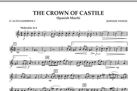 The Crown Of Castile - Eb Alto Saxophone 2 (Concert Band)