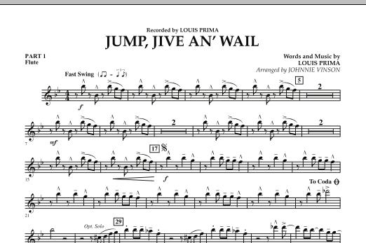Jump, Jive An' Wail - Pt.1 - Flute (Concert Band: Flex-Band)