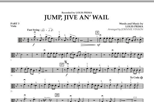 Jump, Jive An' Wail - Pt.3 - Viola (Concert Band: Flex-Band)