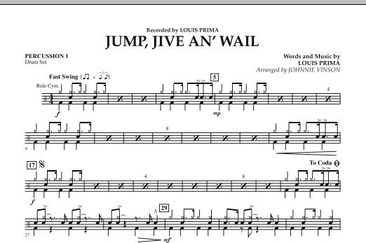 Jump, Jive An' Wail - Percussion 1 (Concert Band: Flex-Band)