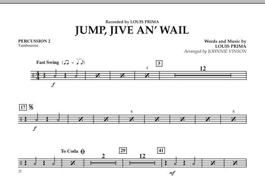 Jump, Jive An' Wail - Percussion 2 (Concert Band: Flex-Band)