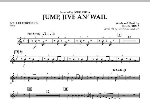 Jump, Jive An' Wail - Mallet Percussion (Concert Band: Flex-Band)