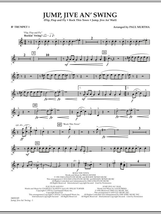Jump, Jive An' Swing - Bb Trumpet 1 (Concert Band)