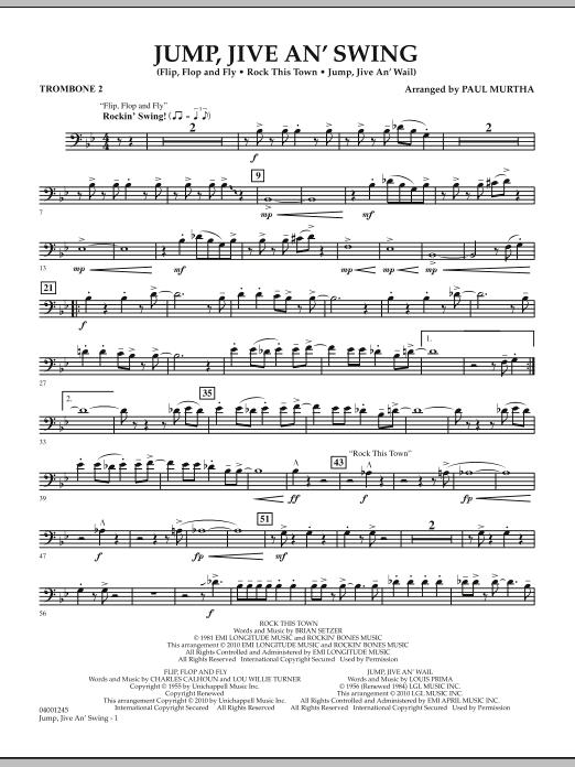 Jump, Jive An' Swing - Trombone 2 (Concert Band)