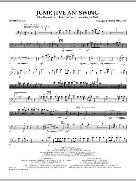 Jump, Jive An' Swing - Baritone B.C. (Concert Band)