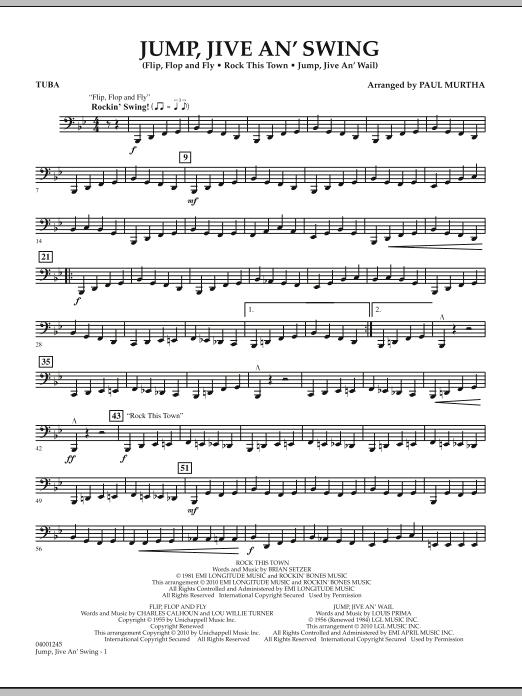 Jump, Jive An' Swing - Tuba (Concert Band)