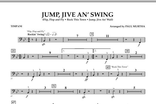 Jump, Jive An' Swing - Timpani (Concert Band)