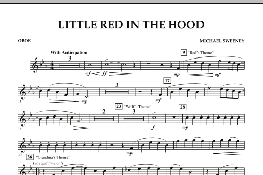 Little Red In The Hood - Oboe (Concert Band)