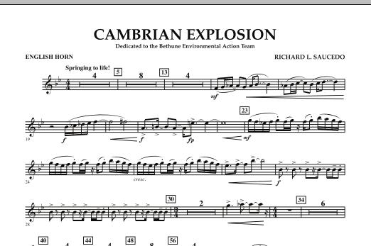 Cambrian Explosion - English Horn (Concert Band)