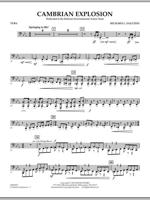 Cambrian Explosion - Tuba (Concert Band)