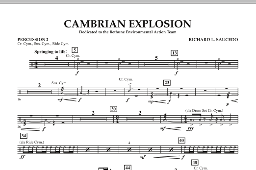 Cambrian Explosion - Percussion 2 (Concert Band)