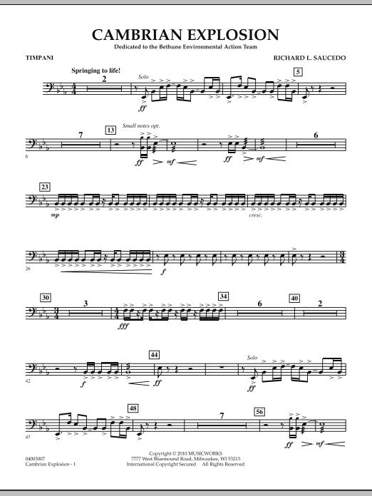 Cambrian Explosion - Timpani (Concert Band)