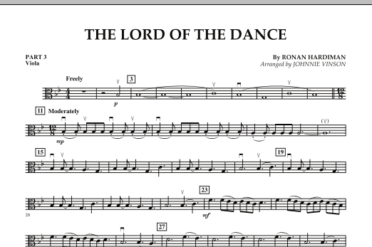 The Lord Of The Dance - Pt.3 - Viola (Concert Band: Flex-Band)