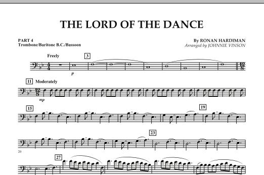 The Lord Of The Dance - Pt.4 - Trombone/Bar. B.C./Bsn. (Concert Band: Flex-Band)