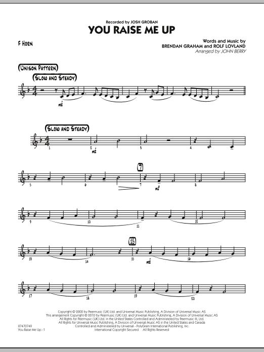 You Raise Me Up - Guitar by Brendan Graham, Rolf Lovland, John Berry ...