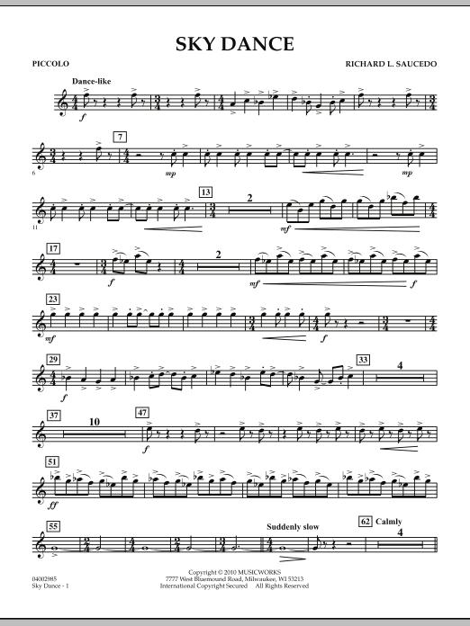 Sky Dance - Piccolo (Concert Band)