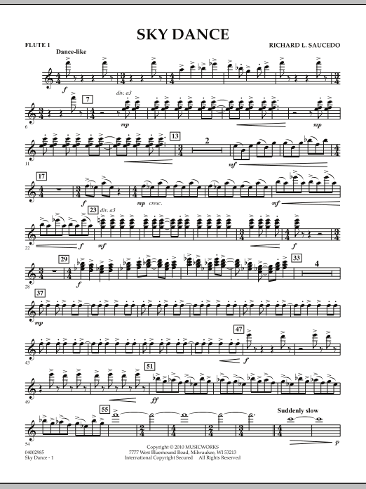 Sky Dance - Flute 1 (Concert Band)