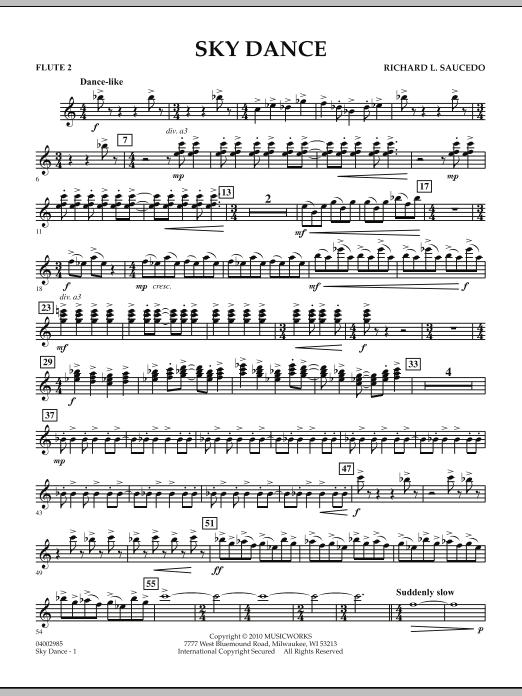 Sky Dance - Flute 2 (Concert Band)