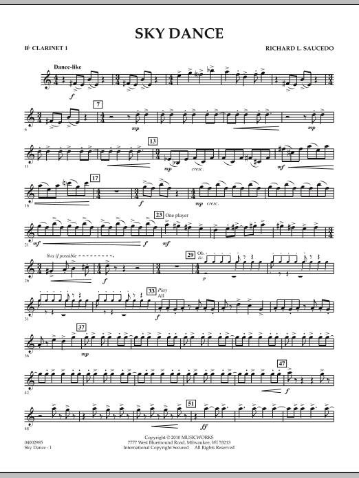 Sky Dance - Bb Clarinet 1 (Concert Band)