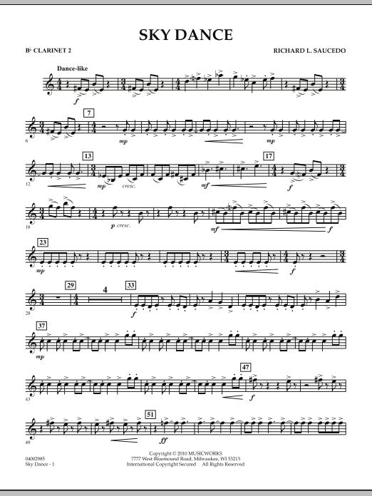 Sky Dance - Bb Clarinet 2 (Concert Band)