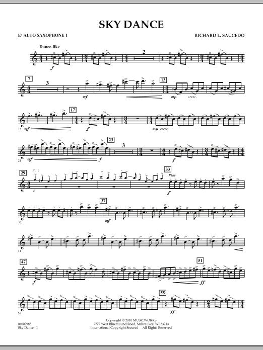 Sky Dance - Eb Alto Saxophone 1 (Concert Band)