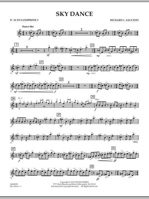 Sky Dance - Eb Alto Saxophone 2 (Concert Band)