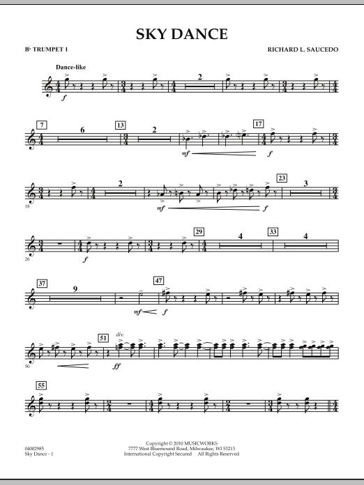 Sky Dance - Bb Trumpet 1 (Concert Band)