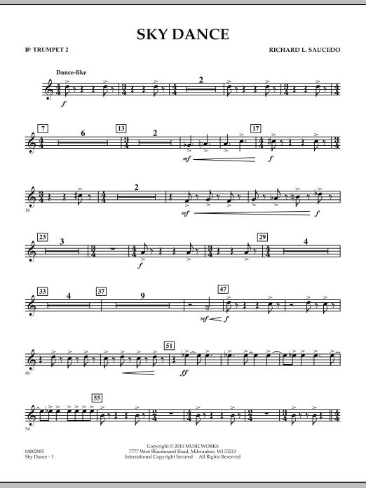 Sky Dance - Bb Trumpet 2 (Concert Band)