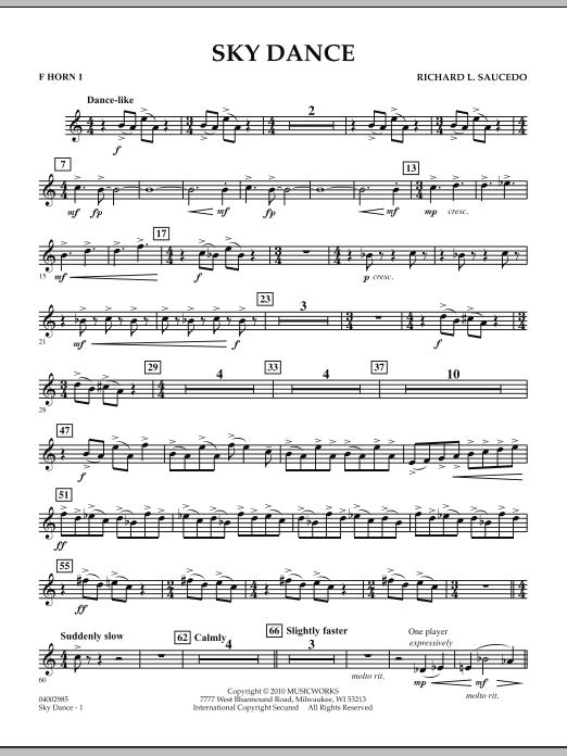 Sky Dance - F Horn 1 (Concert Band)