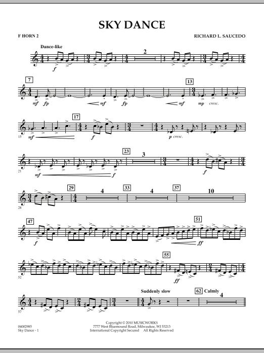 Sky Dance - F Horn 2 (Concert Band)