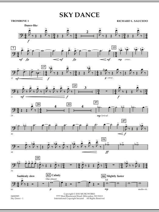 Sky Dance - Trombone 1 (Concert Band)