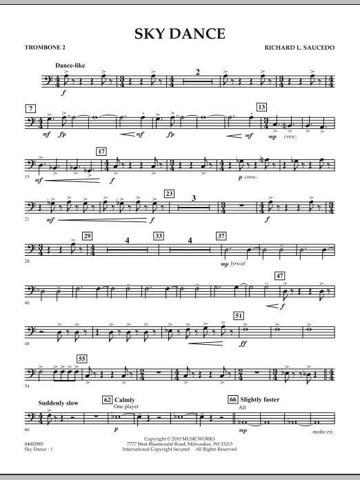 Sky Dance - Trombone 2 (Concert Band)