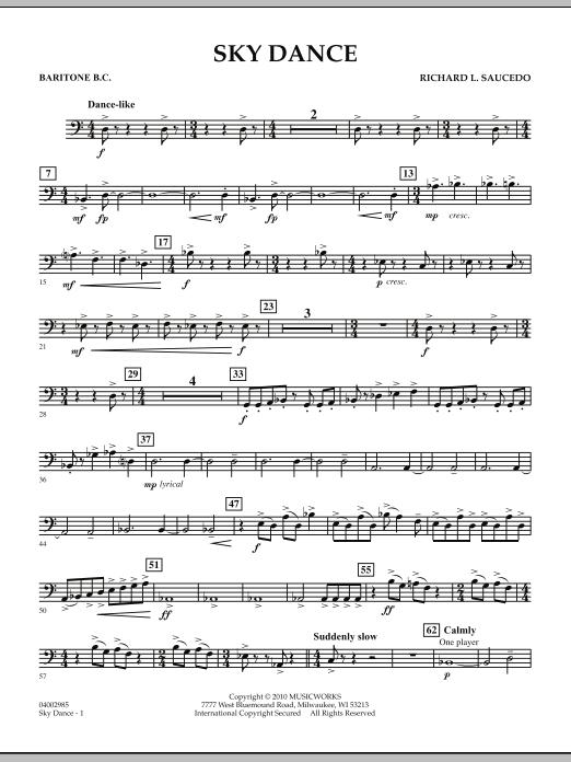 Sky Dance - Baritone B.C. (Concert Band)
