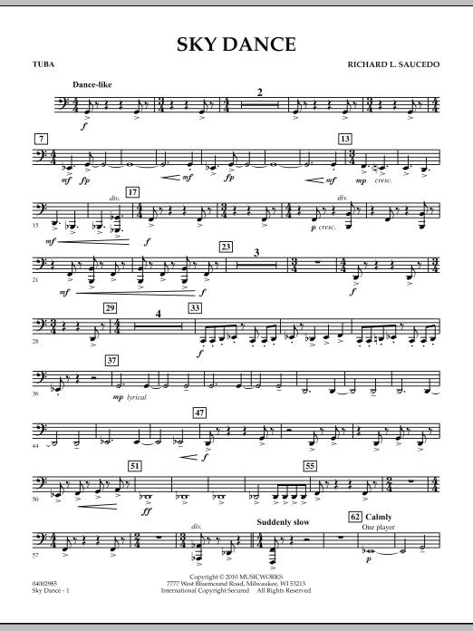 Sky Dance - Tuba (Concert Band)