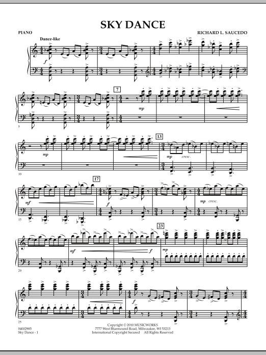 Sky Dance - Piano (Concert Band)
