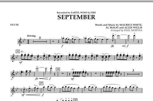 September (arr. Paul Murtha) - Flute (Concert Band)