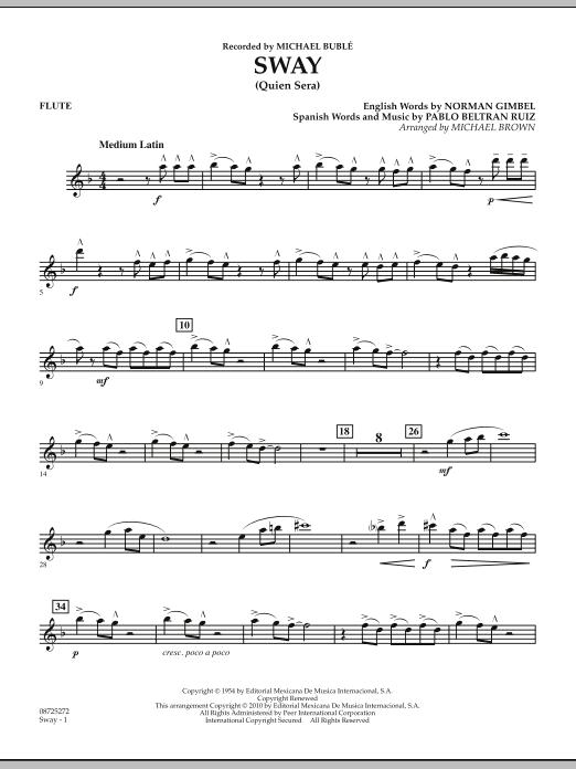 Sway (Quien Sera) - Flute (Concert Band)