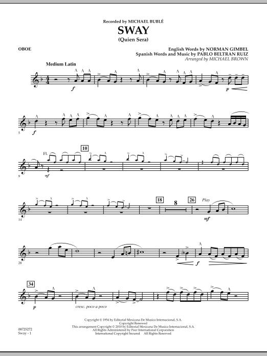 Sway (Quien Sera) - Oboe (Concert Band)