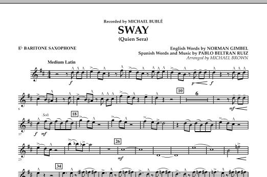 Sway (Quien Sera) - Eb Baritone Saxophone (Concert Band)