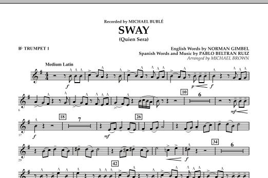 Sway (Quien Sera) - Bb Trumpet 1 (Concert Band)