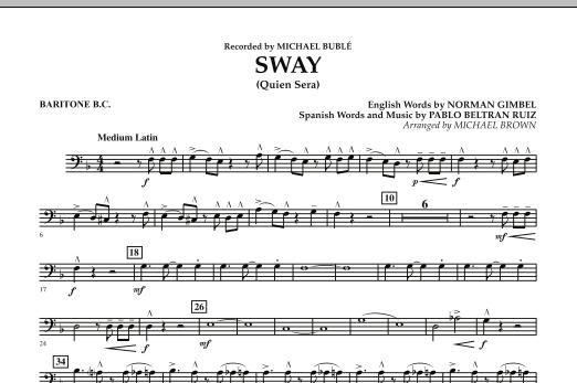 Sway (Quien Sera) - Baritone B.C. (Concert Band)