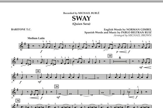 Sway (Quien Sera) - Baritone T.C. (Concert Band)