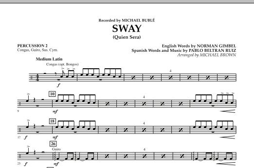 Sway (Quien Sera) - Percussion 2 (Concert Band)