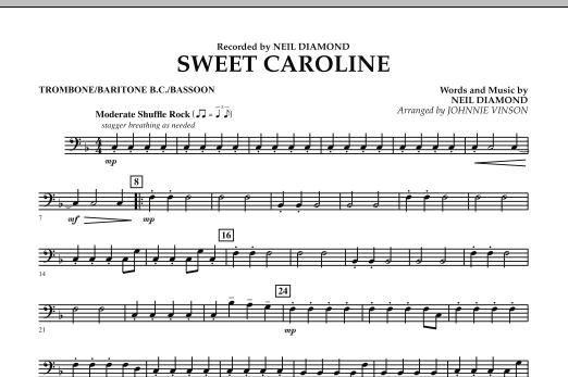 Sweet Caroline - Trombone/Baritone B.C./Bassoon (Concert Band)