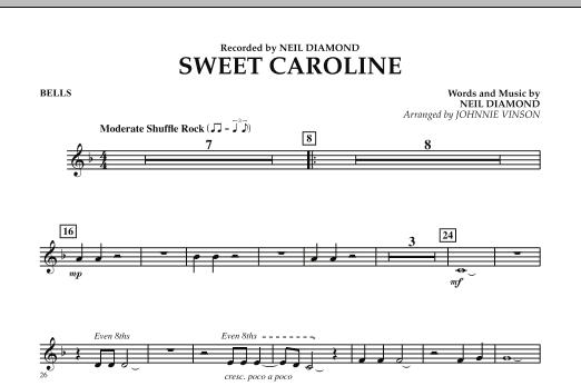 Sweet Caroline - Bells (Concert Band)