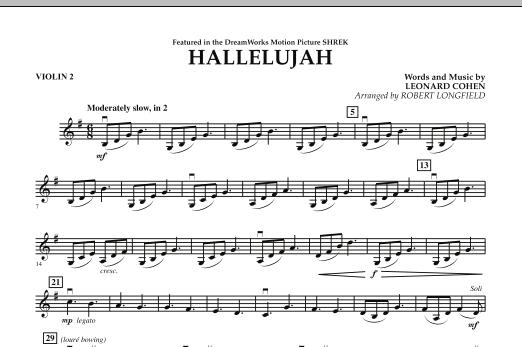 Hallelujah - Violin 2 (Orchestra)