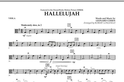 Hallelujah - Viola (Orchestra)